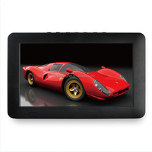 Rechargeable Digital handheld 7 inch portable dvb-t2 lcd tv for car