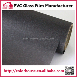 Decorative and Protective self adhesive black frosted glass film