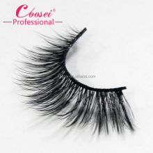 Cheap wholesale pairs silk mink lashes 3D fiber synthetic hair false eyelashes