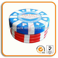 Custom Gambling Chips Tin Cans