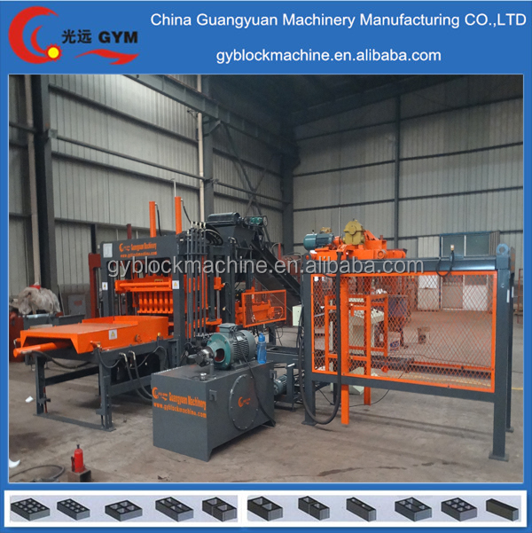 construction equipment multi funtion making hollow block forming machine