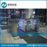 Automatic sliding turnstile Electronic Security Turnstile with access control keypad