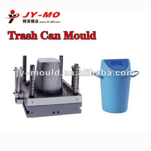 durable recycling plastic rubbish mould, useable plastic ash can molding