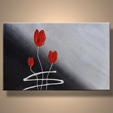 Handmade Wholesale Modern Simple Flower Painting