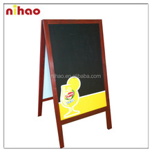 Promotional Double Side Outdoor Restaurant Blackboard