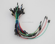 Electric Cable, M/M Jumper wire, breadboard jumper with round head