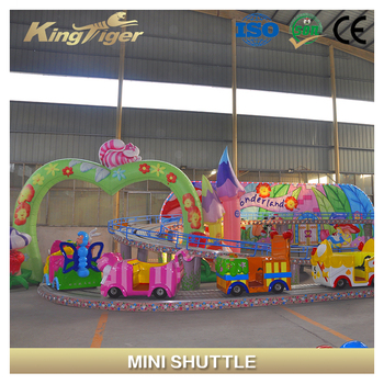 Funfair equipment electric train kdis mini shuttle for selling