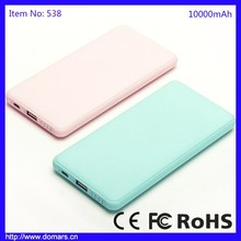 Polymer Battery External Smartphone 10000mAh Power Bank Recommended