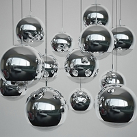 Creative molecules DNA Glass Chandelier Dining Light Pendant Lamp