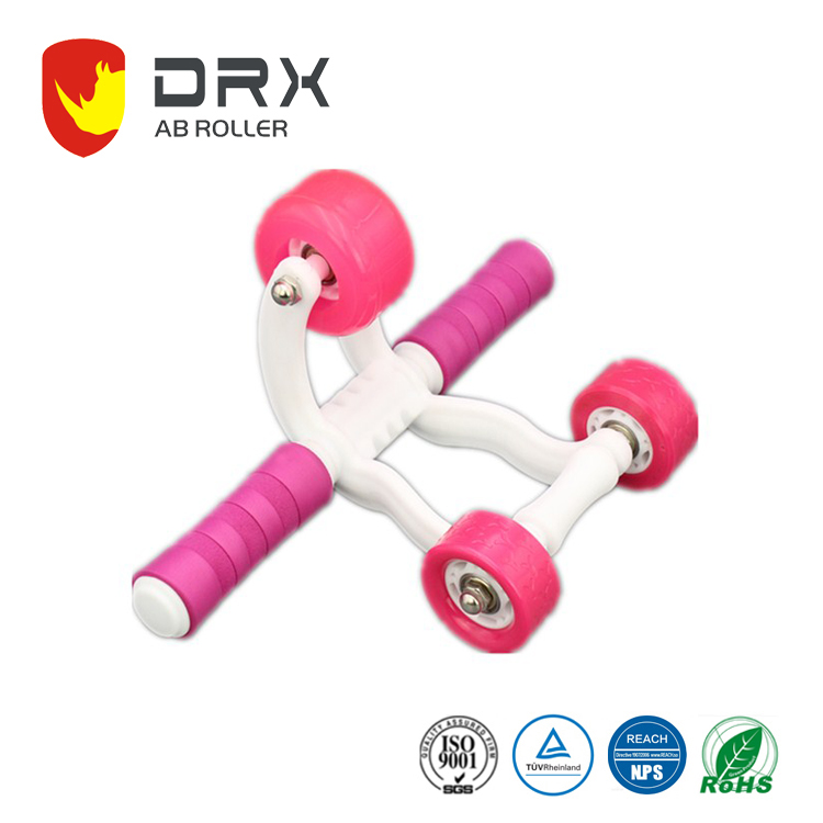 sports cheering items new style 3 wheels ab body training roller