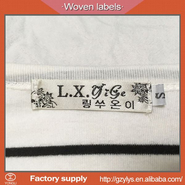 Personalised customized fabric labels for clothing
