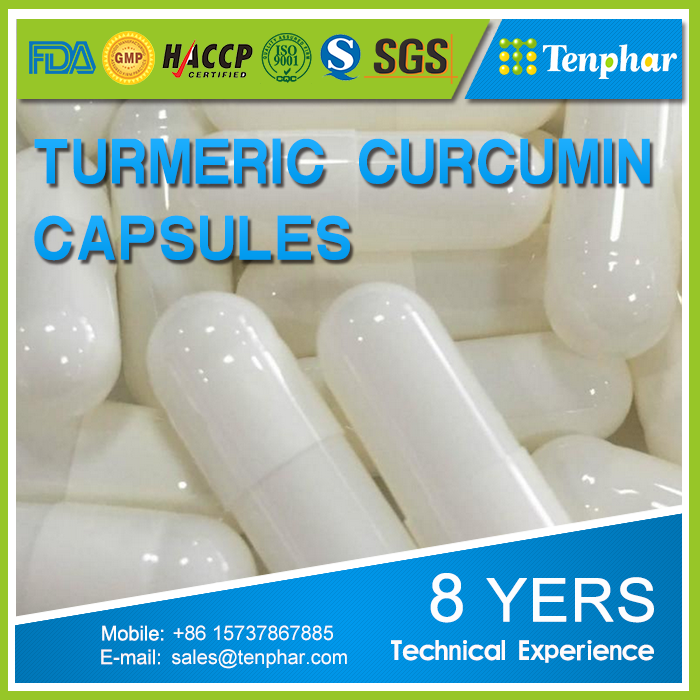 Private Label Turmeric Root Extract Soft Gels Capsules