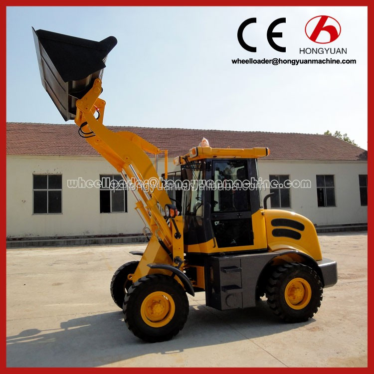 CE certificate cheap wheel loader with joystick