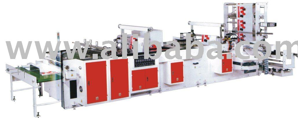 Plastic Hand Bag Making Machine