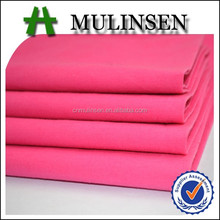 Mulinsen Textile Factory Direct High Quality Woven Plain Dyed and Printed 95 Cotton 5 Spandex Poplin 140GSM Fabric for Garment