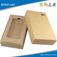Phone Packaging Box Cardboard Craft Box With Insert