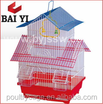 Baiyi supplier sale Double/Iron Wire Bird Cage For Parrot