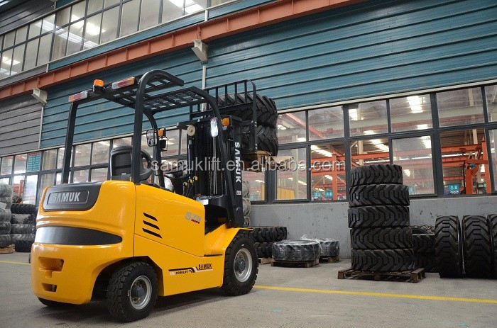 2017 hot sale Samuk forklift electrical 3 ton small forklift FB30