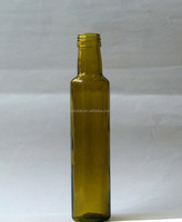 500ml green olive oil glass bottle