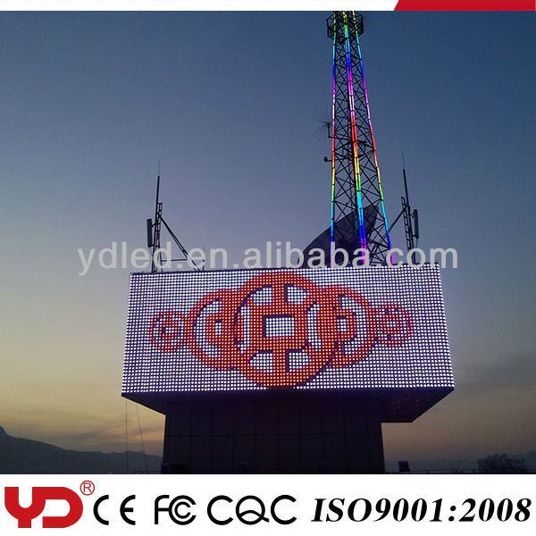 YD IP68 12V outdoor led advertising display