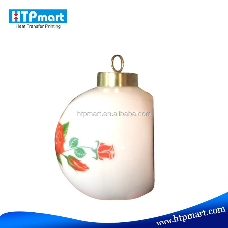 High Quality Sublimation Ceramic Bauble of Good Price