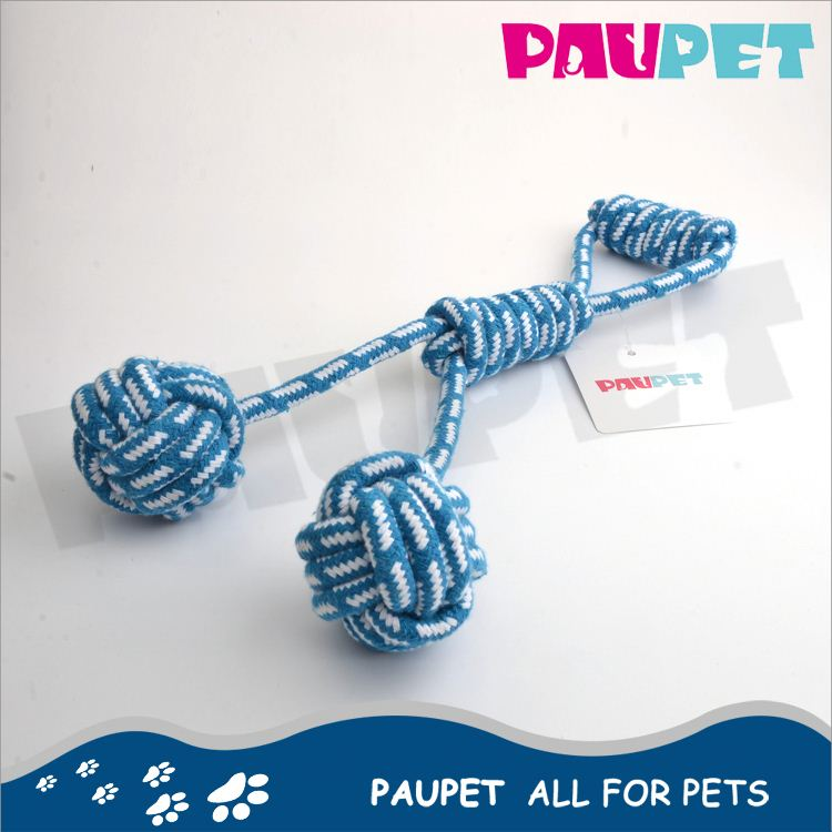 Satisfying service factory directly pet rope squeaker toys