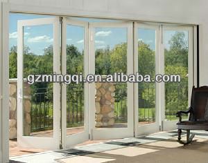pvc sliding folding door partition