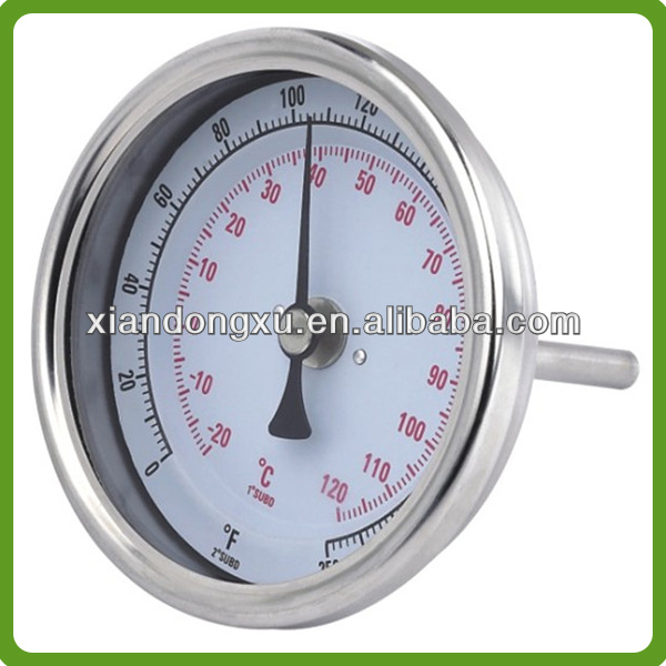 Instant read stainless steel bimetal thermometer(IOS9001:2008)