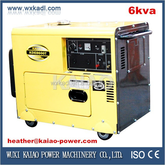 New Style 3kw 5kw 6kw 10kw Home Used Diesel Silent