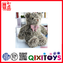 New arrival kids toy stuffed plush teddy bear usa sweater and EN71approval bear doll images