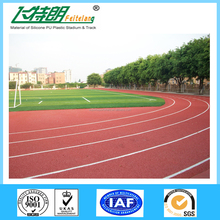 High Quality Professional Outdoor Indoor Synthetic Rubber Running Track underlay Material/Running track floorings material