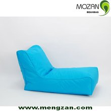 new design long bean bag with back support waterproof bean cushion