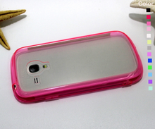 Cell Phone Case Factory TPU Transparent Phone Case For samsung galaxy s3mini i8190