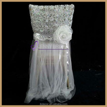 C186B silver wholesale wedding tutu chair cover