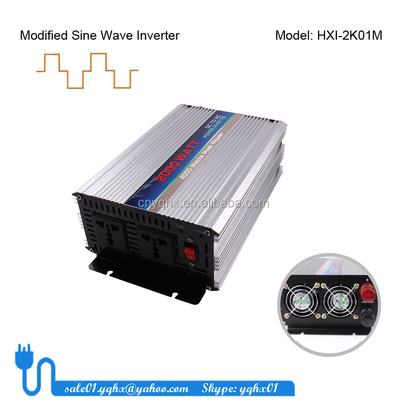 home use street light solar ac dc to ac <strong>motor</strong> 2000 <strong>w</strong> inverter for car battery power with USB