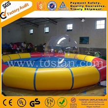 PVC used large inflatable adult plastic swimming pool rental inflatable pool for sale A8001