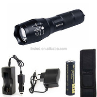 Zoomable XML T6 LED 18650 Flashlight