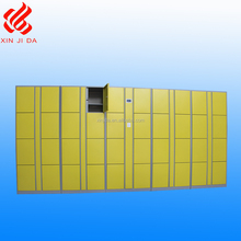 8 door galvanized sheet water proof steel electronic beach locker