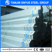 free samples scaffolding tubing/seamless galvanized steel pipe bulk buy from china