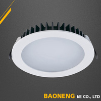 Foshan Pure Aluminum SMD Chip 5W LED Downlight Flat