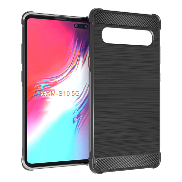 PU+PC card holder leather back case for Samsung S10 S10 Plus S10e cover