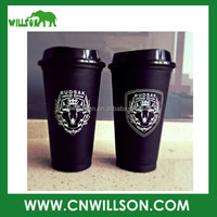 Factory manufacturer sublimate white black cheap bulk tea coffee cup and saucers wholesale with lids