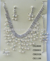 pearl jewelry sets, fashion pearl necklace set, best imitation pear jewelry