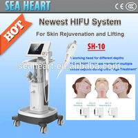 CE approval ! wrinkle removal Device Ultrasound hifu face lift