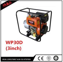 CE Standart Air Cooled 3.0 inch Manual Diesel Water Pump