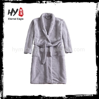 Multifunctional white cotton bath robes made in China