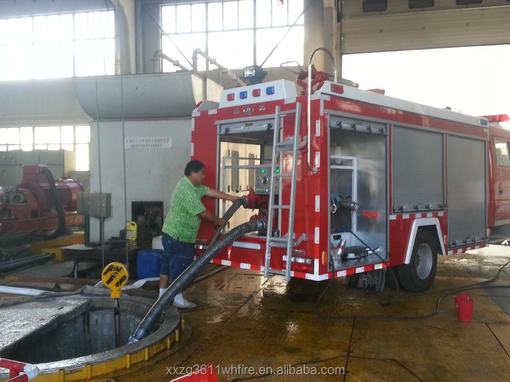 Top Hot Selling Hot Sale Diesel Emergency Rescue 4000L New Design Water Tank-Foam special fire truck for sale