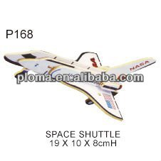 WOODEN MOLDS (P168) SPACE SHUTTLE