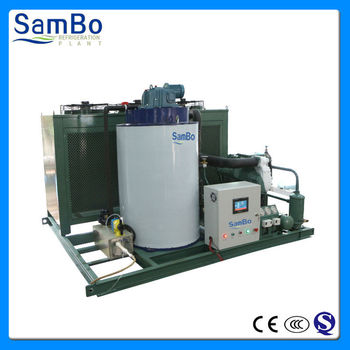 China Supplier 5T Commercial Crushed Ice Flake Machine With CE Certificates