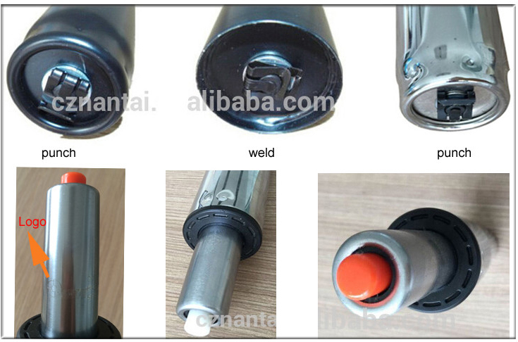 Color Briliancy Steel Gas Piston for Chairs